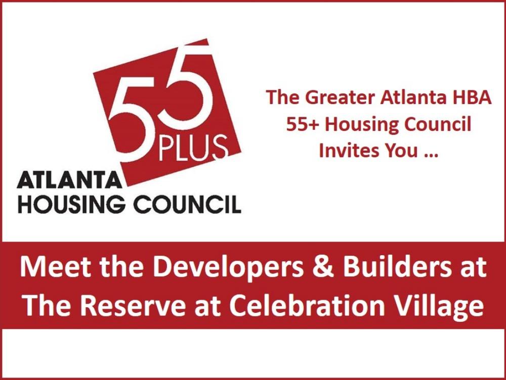 55+ Atlanta Housing Council | Greater Atlanta Home Builders Association